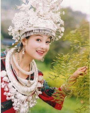 雲南白族少女-雲南新娘